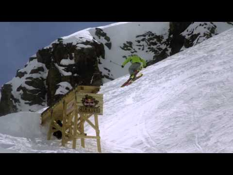 Freeskiing competition – Red Bull Cold Rush 2012