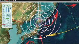 4/19/2019 -- Global Earthquake Update -- Between waves now -- Be prepared for increase