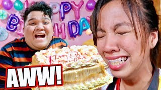 NAIYAK SI BEBANG SA SURPRISE BIRTHDAY CELEBRATION NIYA!!! | LC VLOGS #308