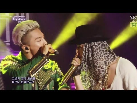 TAEYANG - STAY WITH ME(feat. G-DRAGON), '눈, 코, 입(EYES, NOSE, LIPS)' 0608 SBS Inkigayo COMEBACK