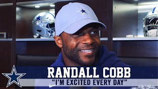 Randall Cobb On His Comfort Level With The Dallas Cowboys | Dallas Cowboys 2019