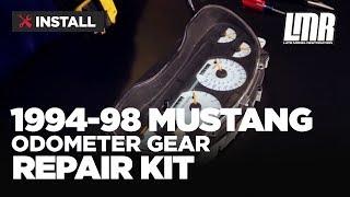 1994-98 Mustang Odometer Gear Repair/Fix Kit - Install