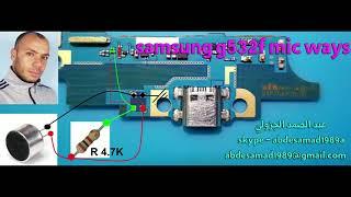 مسارات مع التعويض سامسونج samsung j2 prime g532f mic ways ...