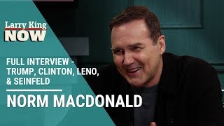 Gambling, Trump, Seinfeld, and Leno: Norm Macdonald Sits Down With Larry