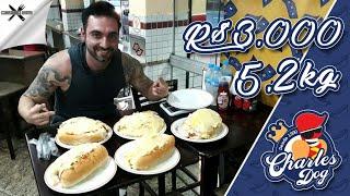 Desafio #27 - Hotdogs gigantes, prêmio R$3000! (5.2kg, 12000kcal+)