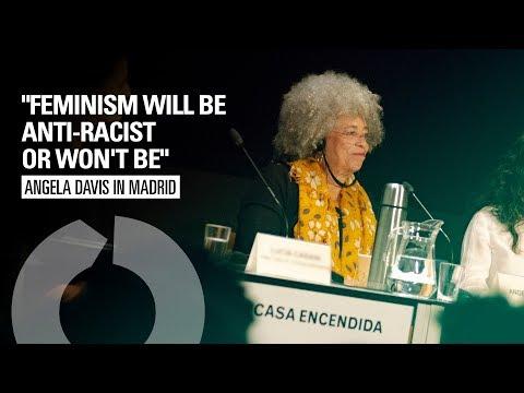 "Angela Davis talk's in Madri | ""Feminism will be anti-racist or won't be"" (English)"