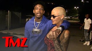 21 Savage, I've Dated Amber Rose Way Longer than You Know   TMZ