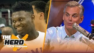 Zion Williamson's 6 best landing spots, Colin begs teams to not trade No. 1 pick | NBA | THE HERD