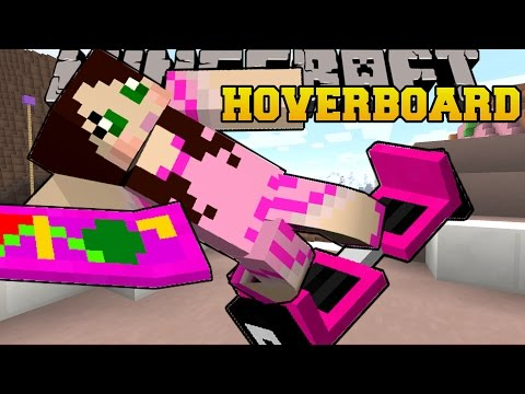Minecraft: HOVERBOARDS! (HOVERBOARD TRICKS & RACE!) Mod Showcase