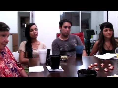 Sabatina grupo Facas na Manga entrevista Natalia Barros