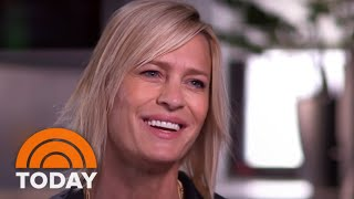 Robin Wright Talks About Kevin Spacey On TODAY: 'I Didn't Know The Man' | TODAY