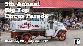 2017 Baraboo Big Top Circus Parade