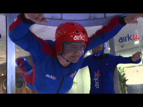 Snods V Diamond Airkix Indoor Skydiving Challenge