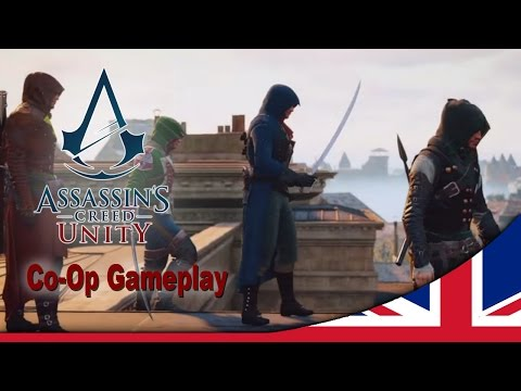 Assassin's Creed Unity Co-op Heist Mission Commented demo [UK]