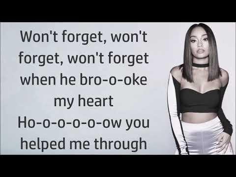 Little Mix ~ More Than Words ft. Kamille ~ Lyrics