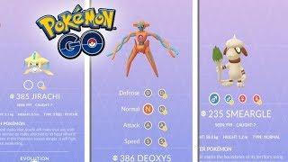 ¡NUEVOS POKÉMON AÑADIDOS en el CÓDIGO de Pokémon GO! SMEARGLE, JIRACHI, DEOXYS y más! [Keibron]