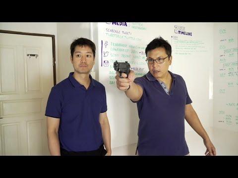 Gun Testing - Firing, Ricochet and Wall Hit!