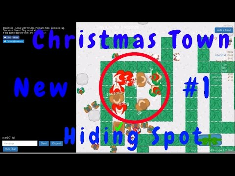 Braains.io - New Christmas Town Map - Best Hiding Spot Ever  -  Merry Christmas!!!!!