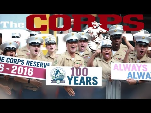 100 Years of Marine Reserve, New Insignia, and Marine Week Nashville (The Corps Report Ep. 81)