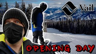 Vail Opening Day 2020 - 21 Season With Social Distancing Information