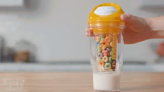 This Genius Cup Actually Lets You Drink Cereal • 13 Gifts That Give You an Extra Hand