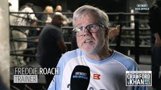 Freddie Roach on how Amir Khan can beat Terence Crawford - YouTube