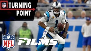 Cam Newton Hits Full Stride Against the Lions Defense (Week 5) | NFL Turning Point