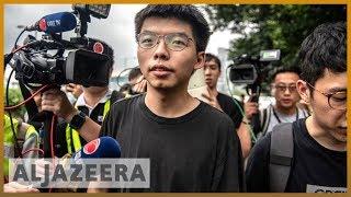 Freed Hong Kong activist Joshua Wong vows to join protests