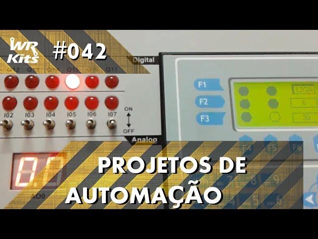 SEMÁFORO INTELIGENTE COM CLP ALTUS DUO | Projetos de Automação #042