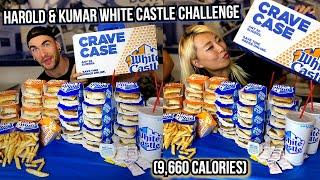 Harold & Kumar White Castle Challenge (9,660 Calories) in Las Vegas!!! #RainaisCrazy