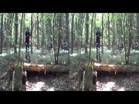 LG Optimus 3D Clips (Biking!)