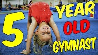 Adorable 5 Year Old Gymnast Kyleigh| Ultimate Gymnastics