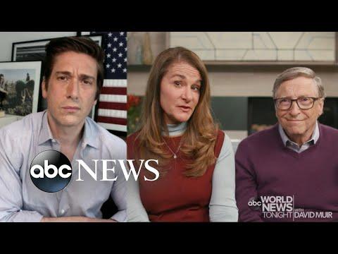David Muir Exclusive with Bill and Melinda Gates on Coronavirus