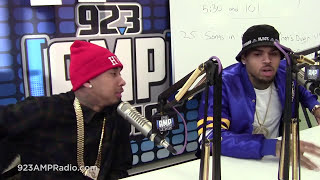Chris Brown and Tyga Reveal Why They Collaborated On Album Together