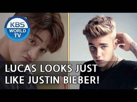 Lucas looks just like Justin Bieber! [Happy Together/2018.10.04]