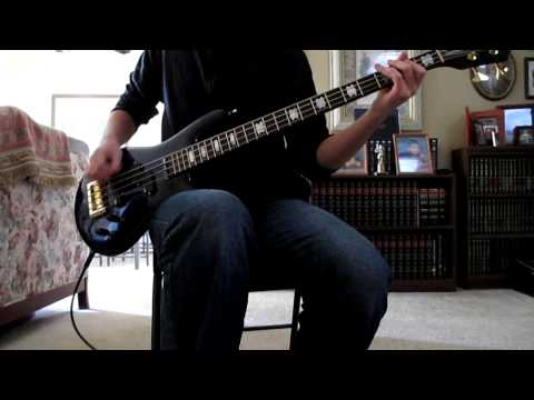Chevelle - Don't Fake This Bass Cover