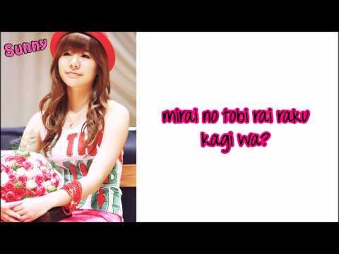 SNSD - Mr Mr. Lyrics [Jap. Version]