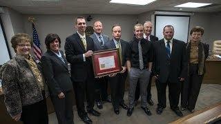 'KSDE honors Pitt State Wood Technology program!