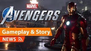 Marvel's Avengers Gameplay & Story & Main Villains Revealed