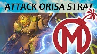 How Mayhem Used Attack Orisa To Quicky Take Eichenwalde | Overwatch League Preseason