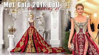 The Making of Met Gala 2018 DeMuse Doll