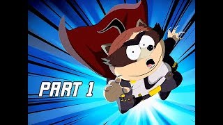 South Park The Fractured But Whole Walkthrough Part 1 - First 1.5 Hours! (Let's Play Commentary)