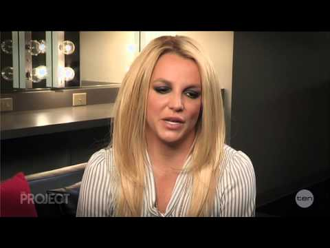 Britney Spears - Interview - The Project (May 25, 2015)