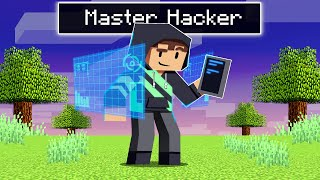 Playing As A MASTER HACKER In Minecraft!