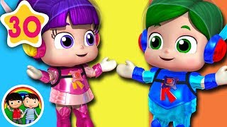 If You'Re Happy And You Know It | Little Baby Bum | Baby Songs & Nursery Rhymes | Learn With ABC 123