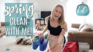 SPRING CLEAN WITH ME! 💐 Speed Deep Cleaning Tips & Motivation 2018