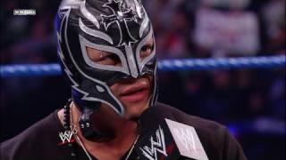 Rey Mysterio talks to Batista