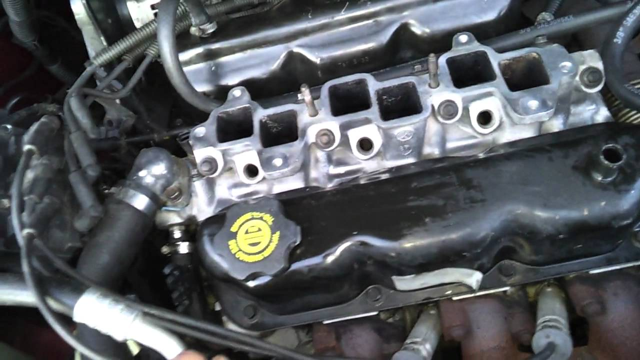 Part 2 Intake Removal And Installation 98 Dgc 3 3l Youtube