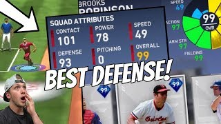 I DRAFTED THE BEST DEFENSIVE TEAM EVER? 12-0 TIME! MLB The Show 19 (Battle Royale)