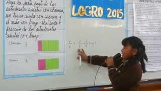 """Primer dia del logro 5°grado 2015 I.E. 2042 """"Fray Martin de Porres"""" UGEL 04"""